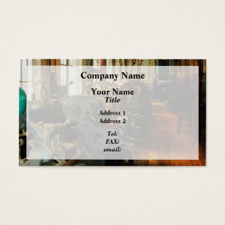 Heavy Machine Shop Business Card
