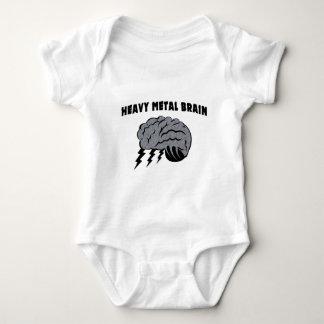 Heavy Metal Brain Baby Bodysuit