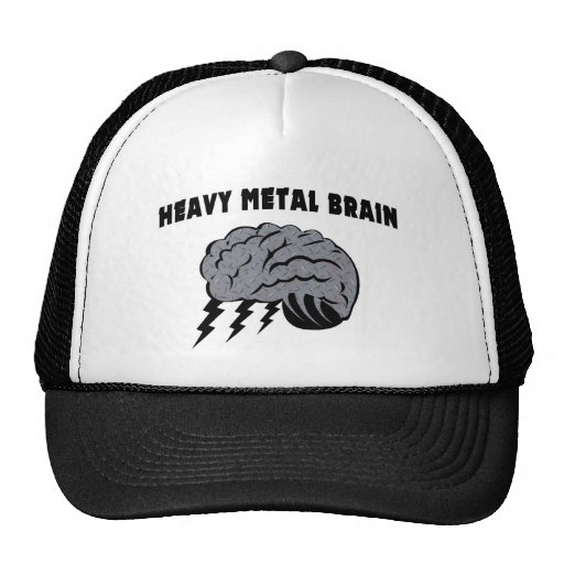 Heavy Metal Brain Hats