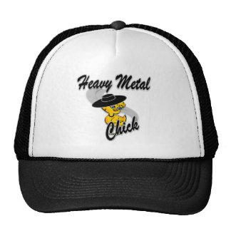 Heavy Metal Chick #4 Trucker Hats