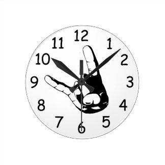 Heavy Metal Clock