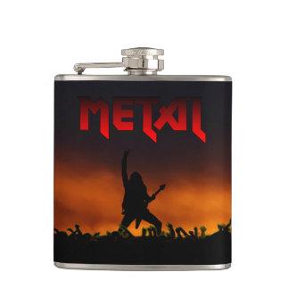 Heavy Metal Concert Flask