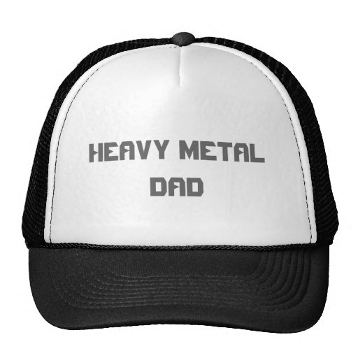HEAVY METAL DAD MESH HATS