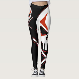Heavy Metal Drummer Leggings Rock & Roll Legging