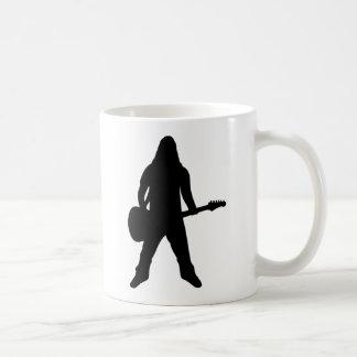 heavy metal guitar player mug