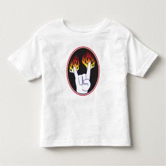 Heavy-Metal Hand Toddler T-Shirt