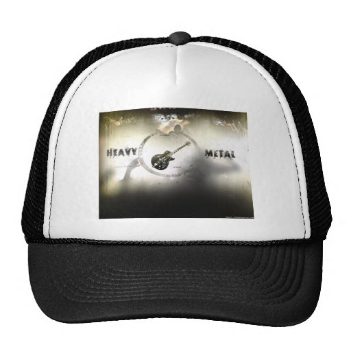 Heavy Metal Trucker Hats