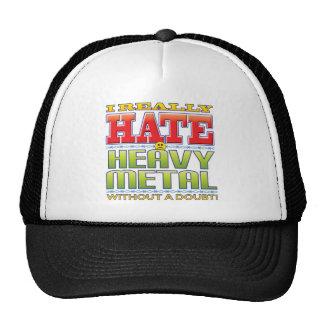 Heavy Metal Hate Face Hats