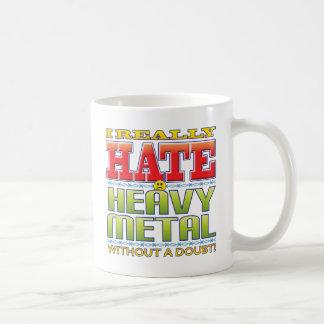 Heavy Metal Hate Face Mug