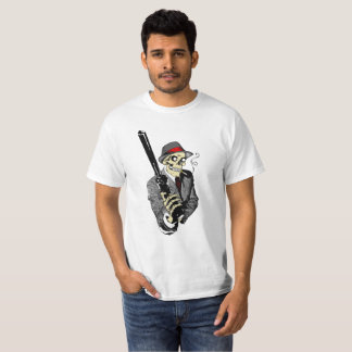 HEAVY METAL HITMAN SKULL T-Shirt