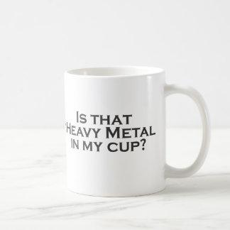 Heavy Metal in my Cup! Coffee Mug