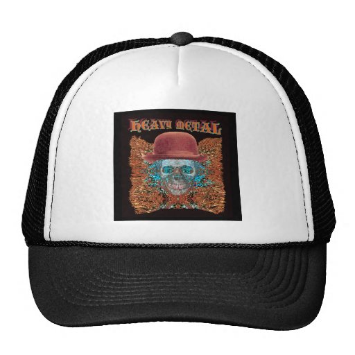 heavy metal large. mesh hat