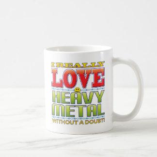 Heavy Metal Love Face Coffee Mug