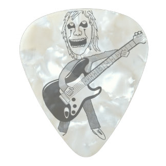Heavy Metal Maniac Guitar Pick Pearl Celluloid Guitar Pick