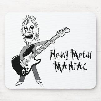 Heavy Metal Maniac Mouse Pad
