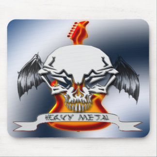 Heavy Metal Mouse Pads