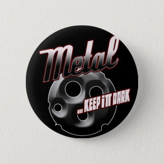 Heavy Metal music t shirt hat hoodie sticker stuff 6 Cm Round Badge