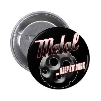 Heavy Metal music t shirt hat hoodie sticker stuff 6 Cm Round Badge