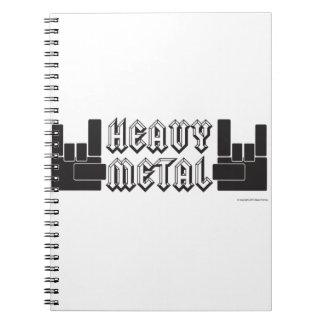 Heavy Metal Note Books