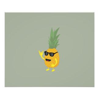 Heavy Metal Pineapple Photo Art