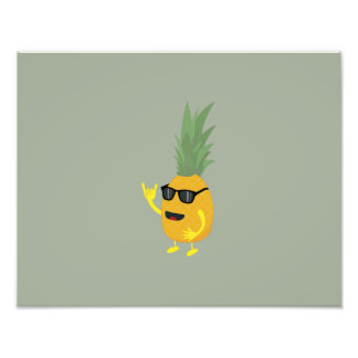 Heavy Metal Pineapple Photograph