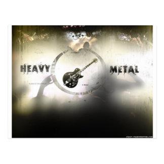 Heavy Metal Postcard
