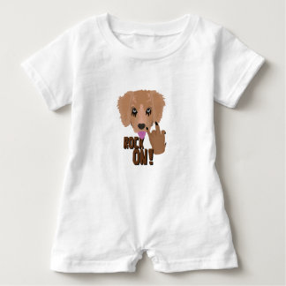 Heavy metal Puppy rock on Baby Bodysuit