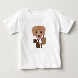 Heavy metal Puppy rock on Baby T-Shirt