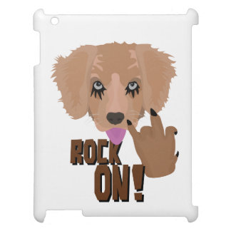 Heavy metal Puppy rock on Cover For The iPad 2 3 4