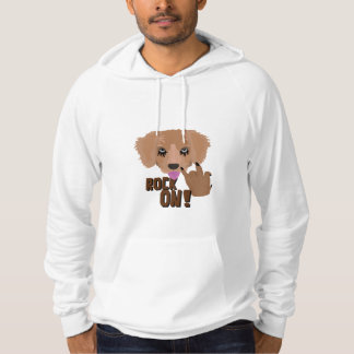 Heavy metal Puppy rock on Hoodie