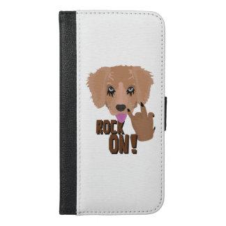 Heavy metal Puppy rock on iPhone 6/6s Plus Wallet Case