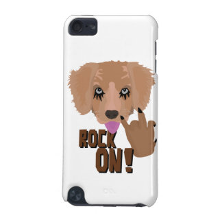 Heavy metal Puppy rock on iPod Touch (5th Generation) Cover