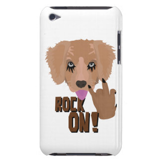 Heavy metal Puppy rock on iPod Touch Covers