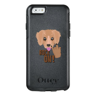 Heavy metal Puppy rock on OtterBox iPhone 6/6s Case