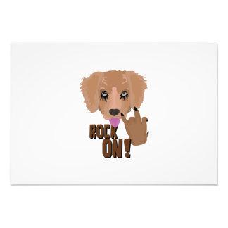 Heavy metal Puppy rock on Photo Art