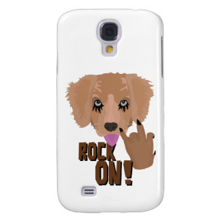 Heavy metal Puppy rock on Samsung Galaxy S4 Covers