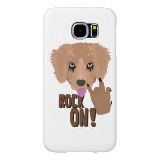 Heavy metal Puppy rock on Samsung Galaxy S6 Cases