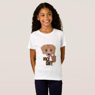 Heavy metal Puppy rock on T-Shirt