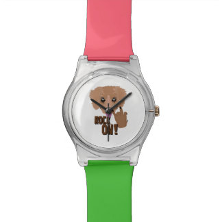 Heavy metal Puppy rock on Watches