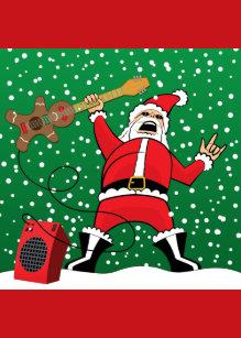 Heavy Metal Christmas.Heavy Metal Christmas Cards Zazzle Au