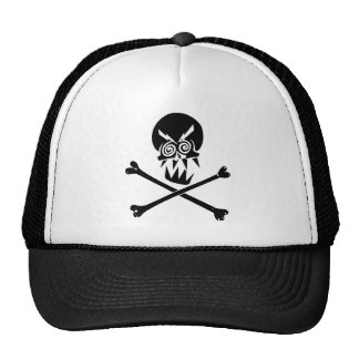 Heavy Metal Skull Trucker Hats