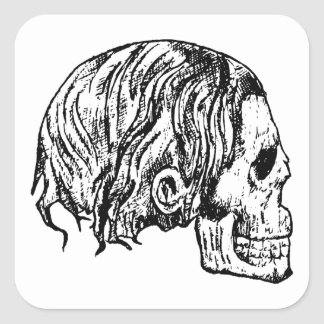 Heavy Metal Skull Stickers