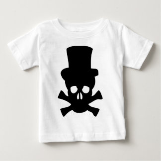 Heavy Metal Skull with Top hat T-shirt