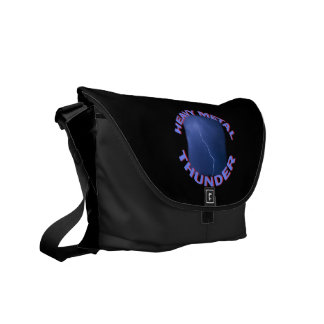 heavy metal thunder courier bag