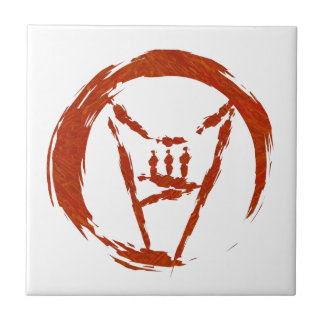 Heavy Metal Universe Logo Ceramic Tile