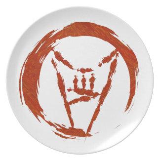 Heavy Metal Universe Logo Plate