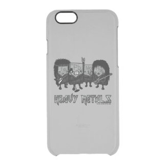 Heavy Metals Clear iPhone 6/6S Case