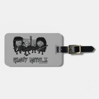 Heavy Metals Luggage Tag