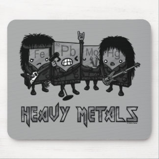 Heavy Metals Mouse Pad