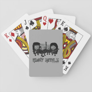 Heavy Metals Playing Cards